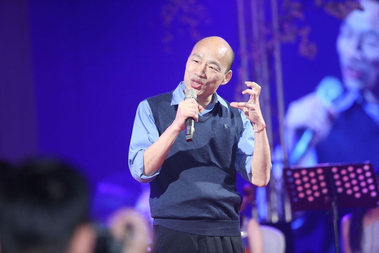 代表藍營出征2020總統大選的高雄市長韓國瑜,今天沒有安排公開的選戰行程,白天在...