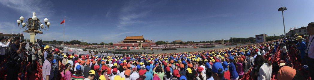2015年9月紀念中國人民抗日戰爭暨世界反法西斯戰爭勝利70周年大會,在北京隆重...