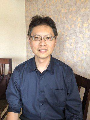 高雄長庚醫院心臟內科主治醫師鍾昇穎。 張益華攝影