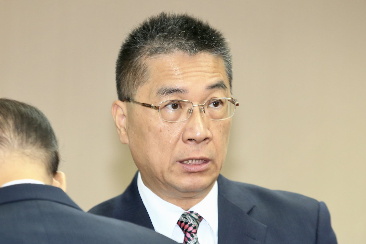 內政部長徐國勇上午列席立法院內政委員會進行業務報告並備詢。記者林伯東/攝影