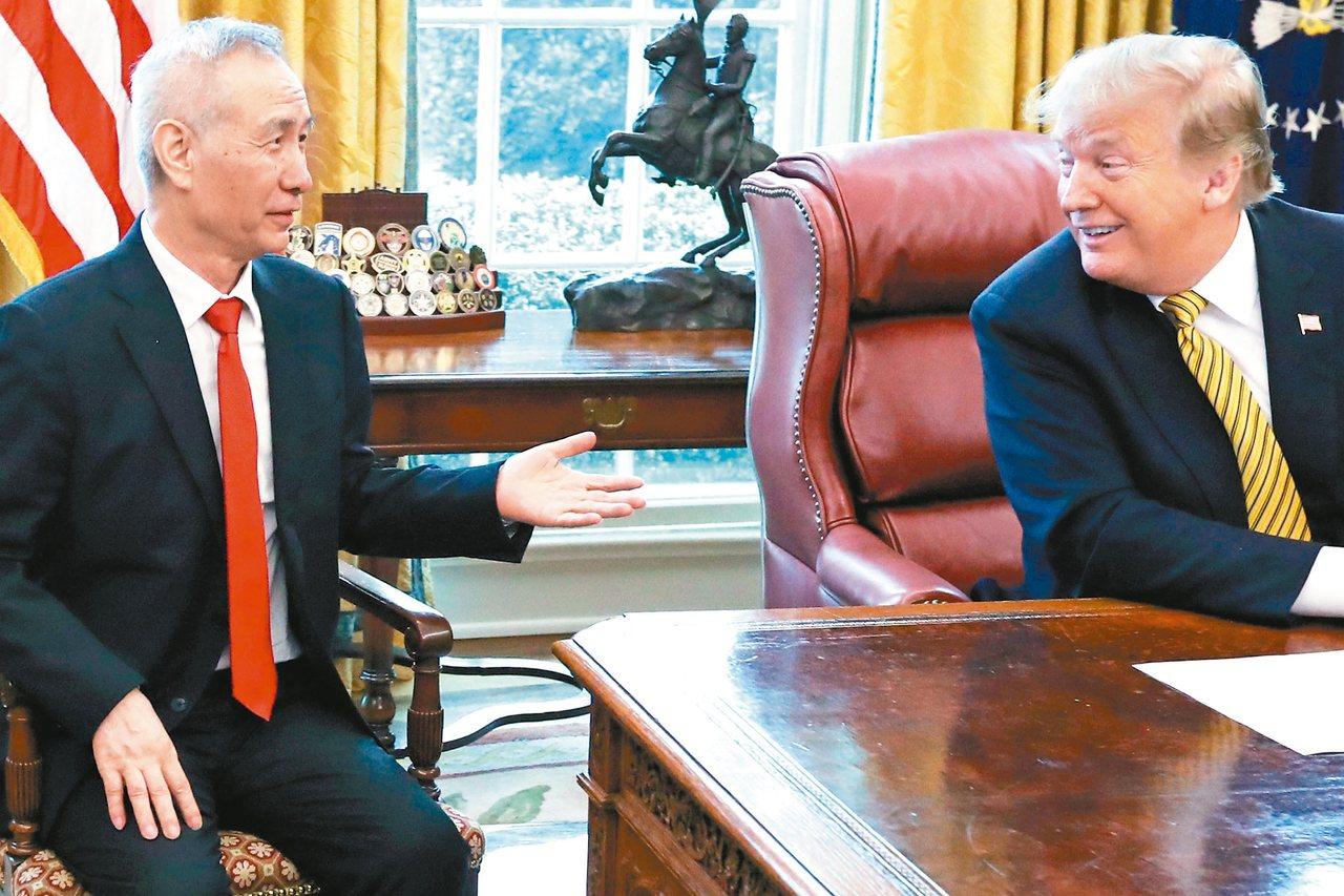 美中貿易談判10日登場,媒體報導,中方愈來愈不願意追求美國總統川普想要的廣泛貿易...