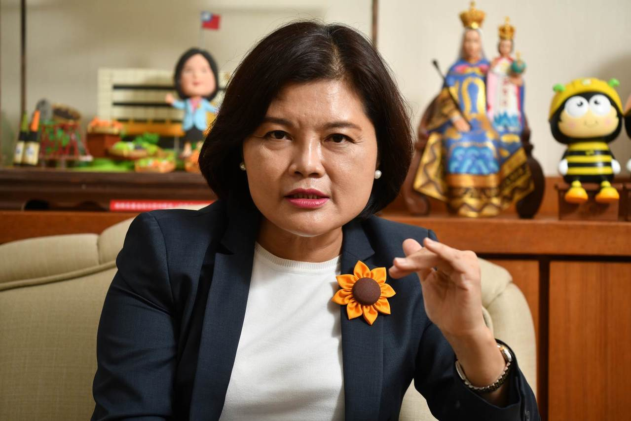 雲林縣長張麗善如何延續張榮味家族的政治生命? 圖片來源:劉國泰攝