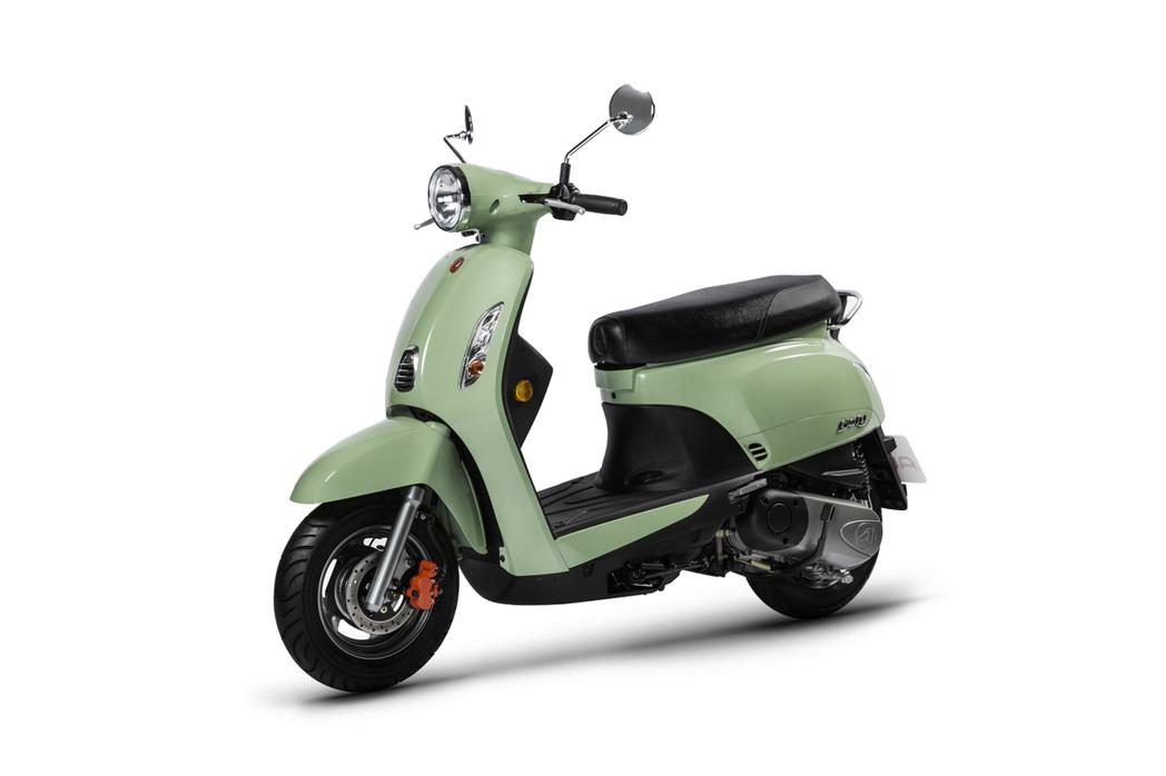 宏佳騰Dory115-薄荷綠。 圖/宏佳騰提供