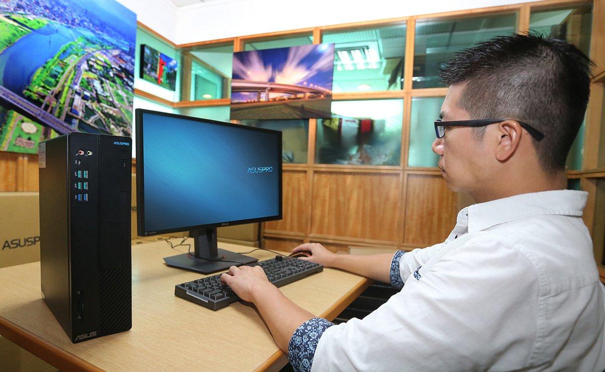 冠德建設已全面升級使用可繪製及顯示建築3D立體模型的BIM軟體,華碩商用桌機讓工...