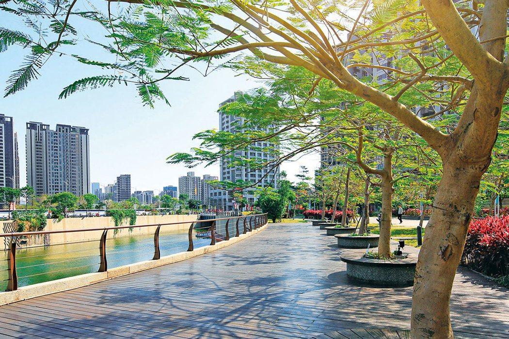 麗寶快樂星球周邊綠地多,除了塭仔底濕地公園,還有中港綠堤,是全家悠閒散步的樂活場...