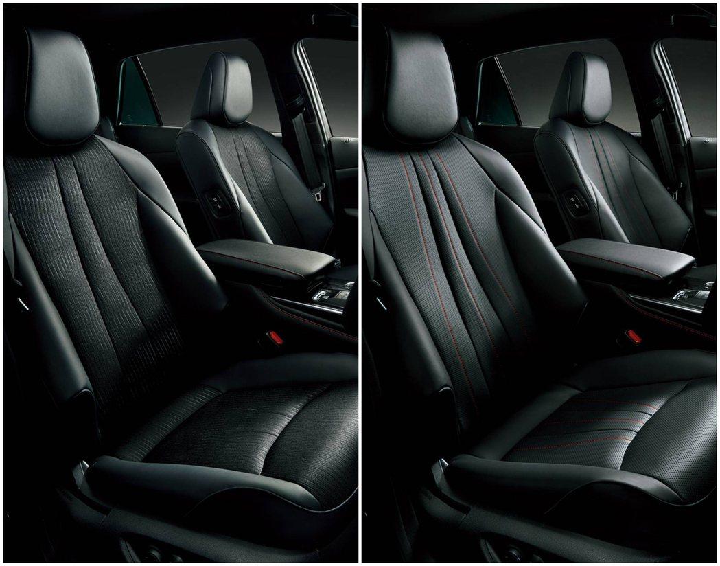 在椅面選擇上,有真皮或是皮革混搭織布2種材質可以選用。  摘自Toyota