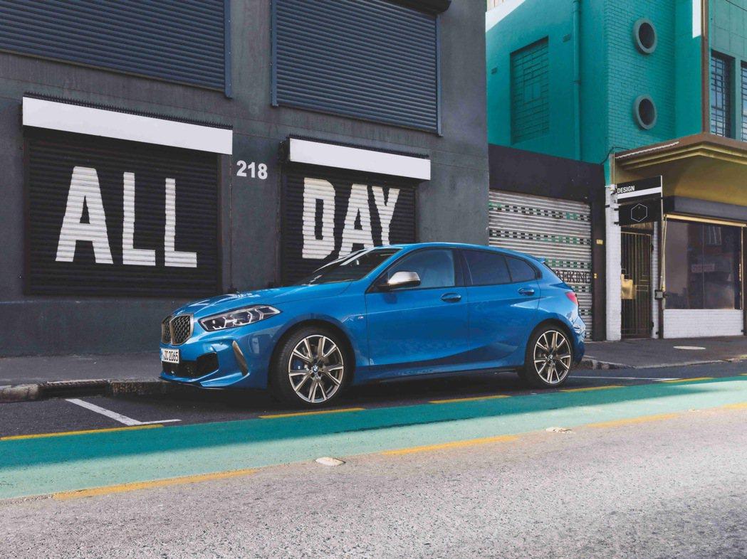 THE 1 AND ONLY 有種不同- 全新世代BMW 1系列即將登場。 圖/...