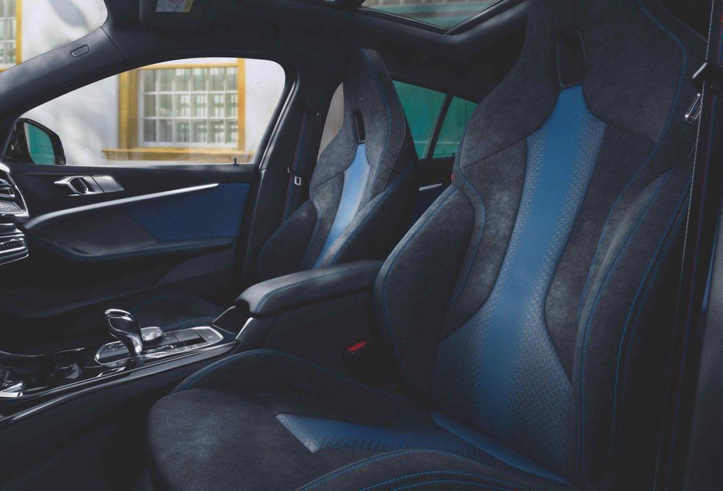 全新世代BMW 1系列座艙以個性化設計,展現年輕前衛的跑格氣息。 圖/BMW提供