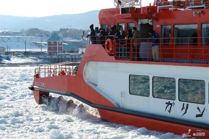 ▲北海道破冰船-GARINKO號Ⅱ。(圖/JNTO)