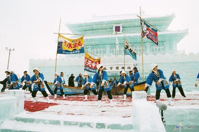 ▲北海道流冰一日遊-紋別流冰祭(圖/©Hokkaido Tourism Orga...