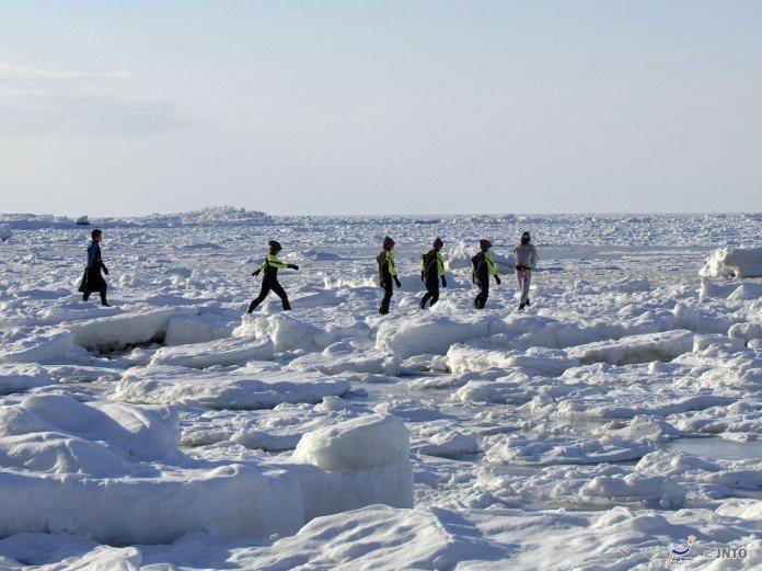 ▲北海道流冰一日遊-流冰漫步。(圖/©Hokkaido Tourism Orga...