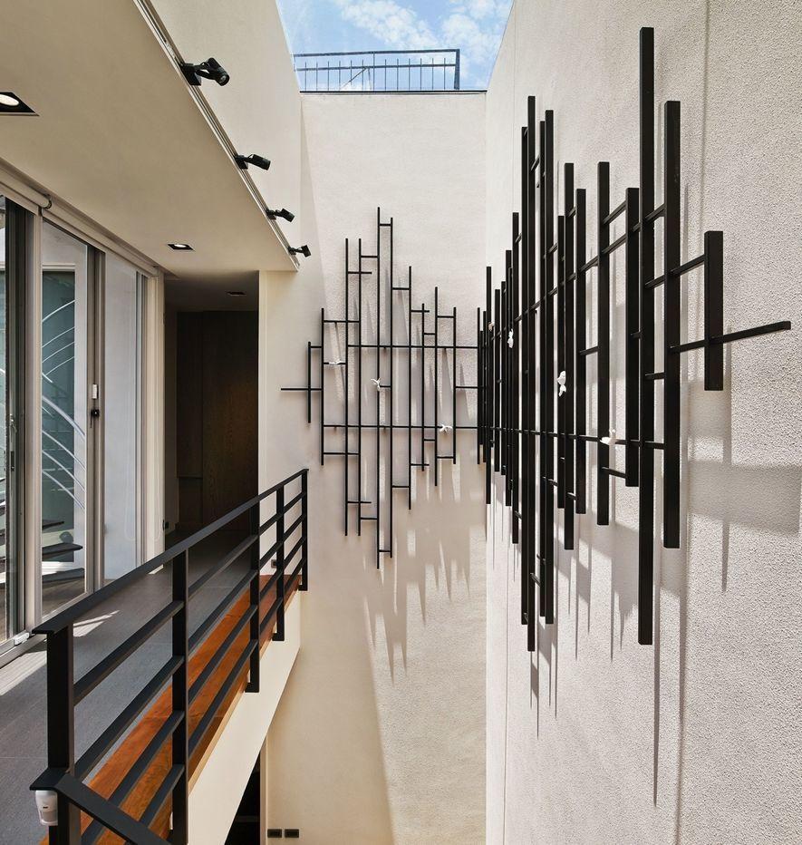 (圖)D.H.I.A黃靜文設計 住宅作品《凝白之間》中庭