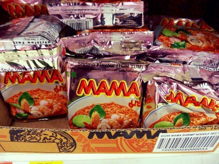 Mama泡麵。 圖/Flickr