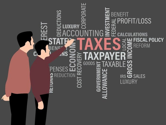 退稅標誌。 圖/source by Pixabay