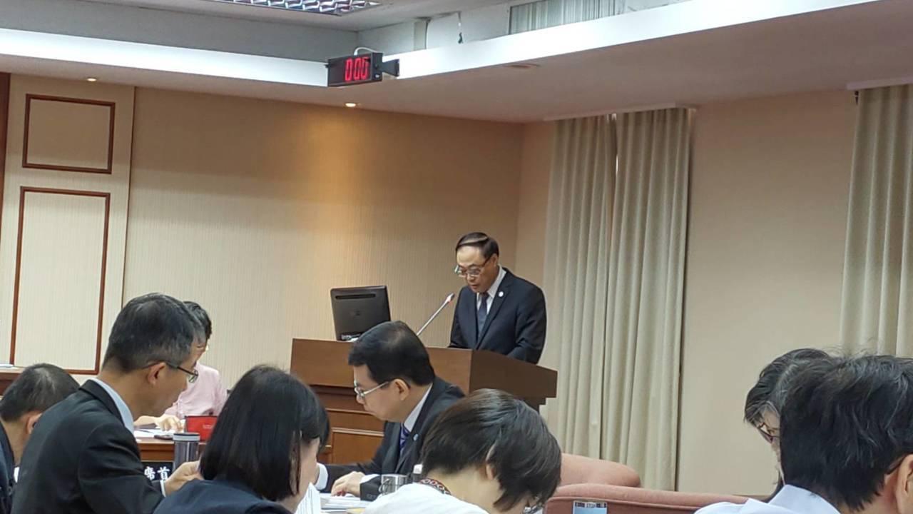 觀光局長周永暉今天到立法院經濟委員會備詢。記者董俞佳/攝影
