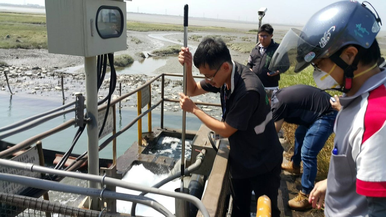 台中市環保局稽查中火5至8號機組放流水,採樣送驗發現「硼」超標24倍。台電表達遺...