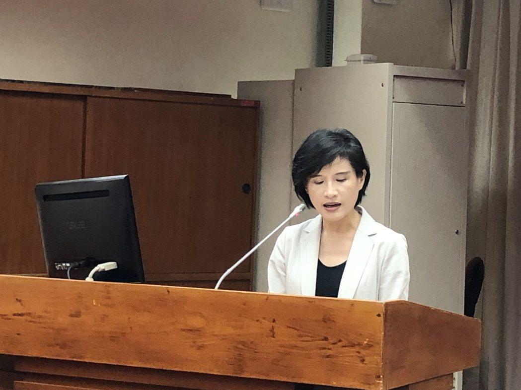 立法院今邀文化部長鄭麗君業務報告。記者何定照/攝影