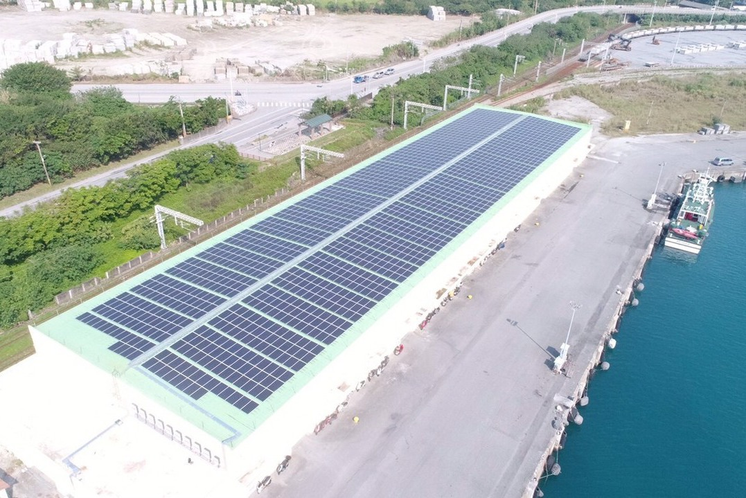 7大商港攜手種電 減碳55座大安森林公園