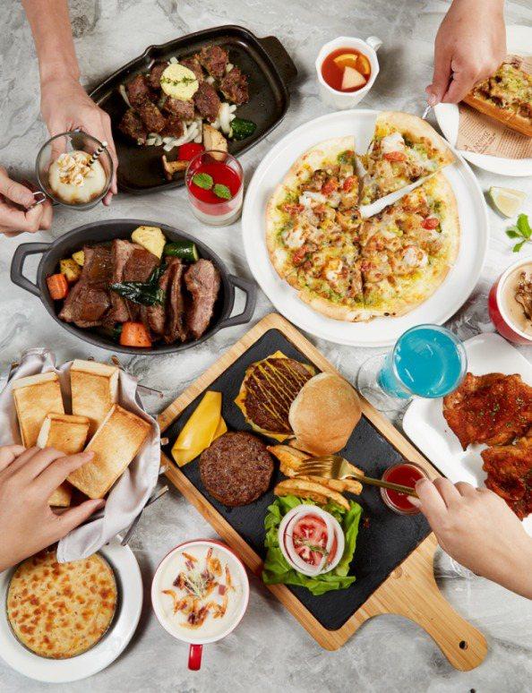 西堤牛排推出3道主餐,並且祭出壽星優惠活動。圖/王品集團提供