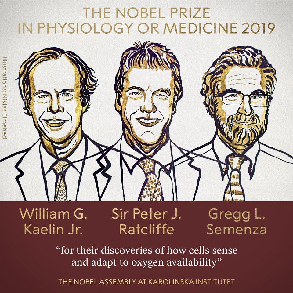 今年的得獎的三位學者,為任職於美國哈佛大學的凱林(左起),來自英國牛津大學的拉特...