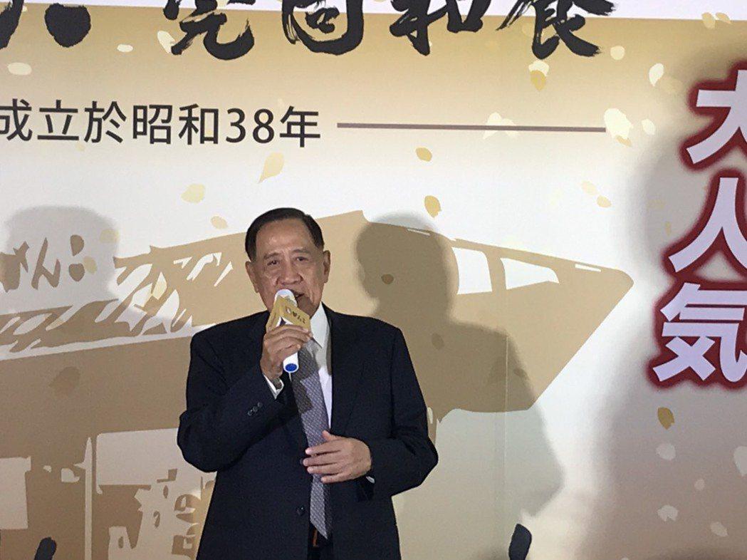 莞固和食開幕,由董事長陳盛沺親自主持開幕活動。記者蔡銘仁/攝影