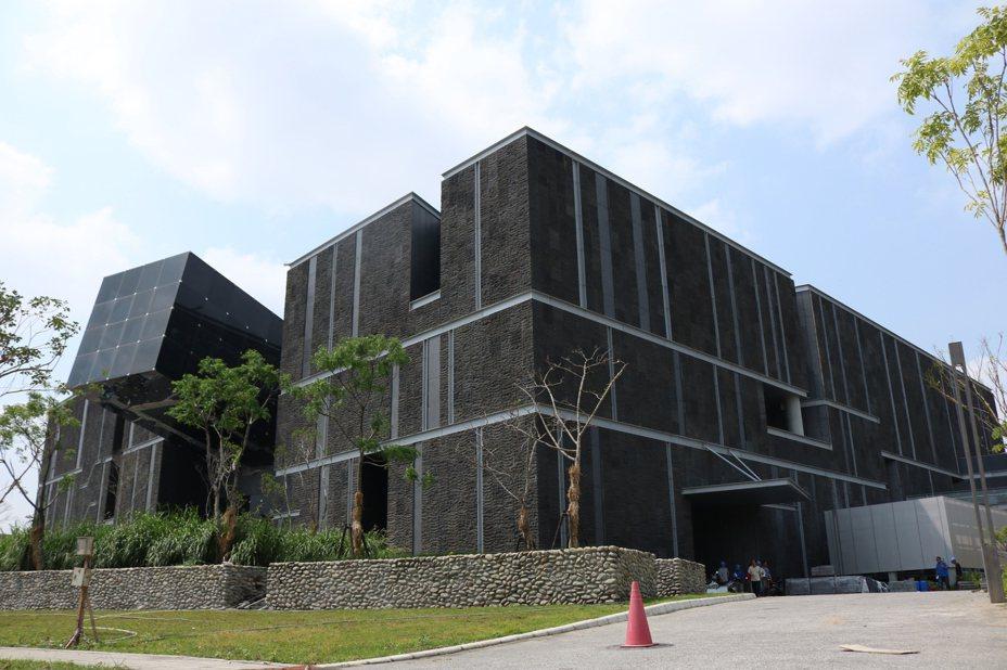 「台灣史前博物館南科館」確定本月19日開幕。記者謝進盛/攝影