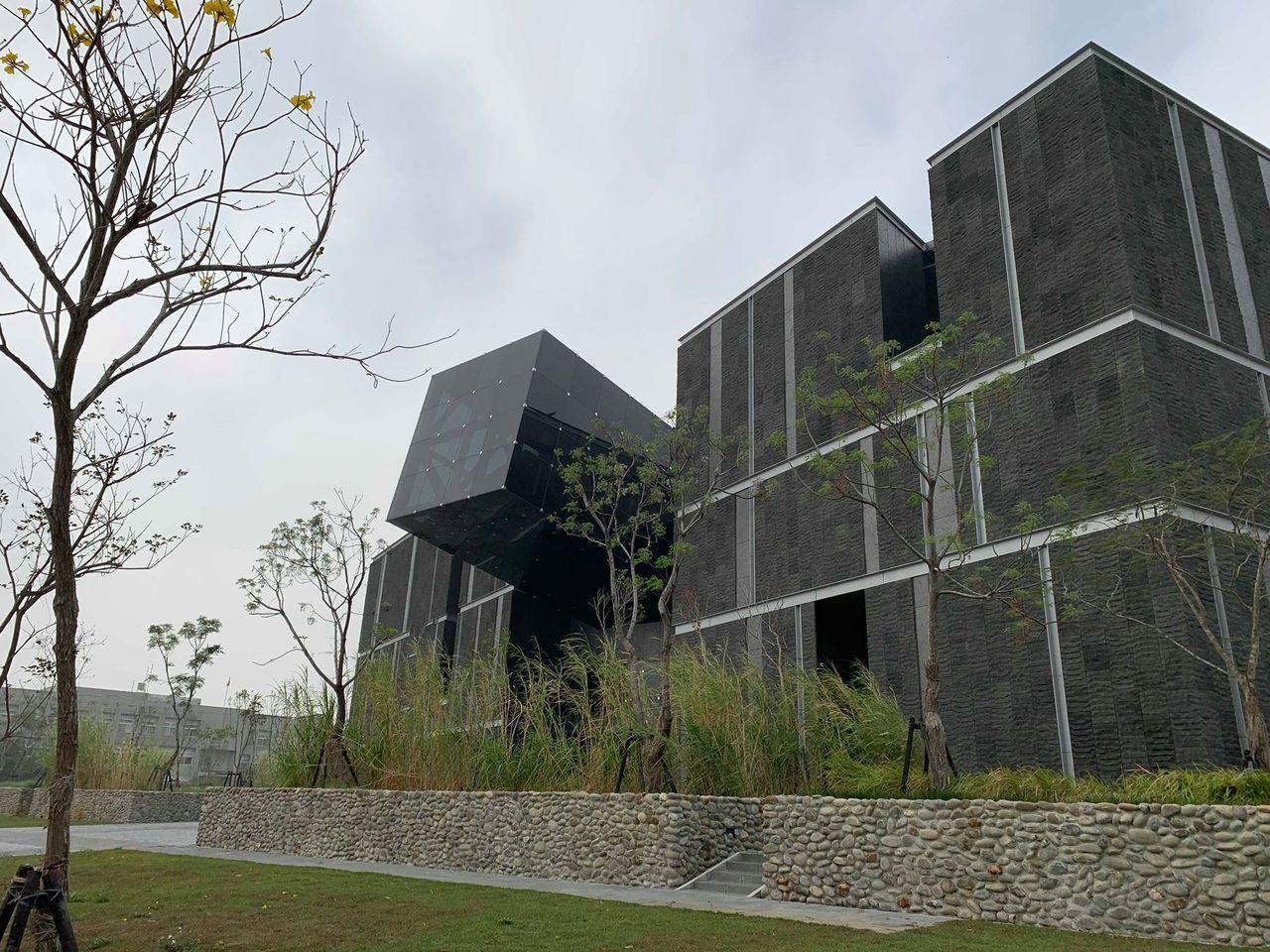 過「台灣史前博物館南科館」確定本月19日開幕。記者謝進盛/攝影
