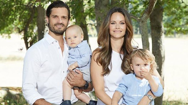 瑞典王室宣布精簡成員,現任國王卡爾十六世.古斯塔夫的5名王孫,包括排行第二的卡爾...