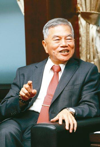 經濟部長沈榮津。 記者邱德祥/攝影