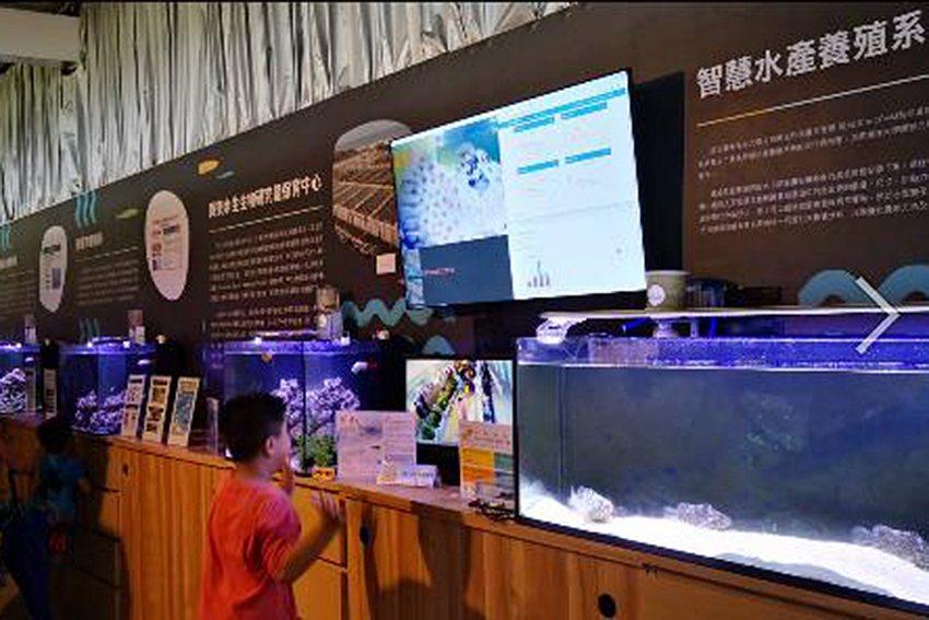 該公司歡迎大家假日來參觀桃園農業博覽會「魚的新世界」展館。 邁仕智聯公司/提供