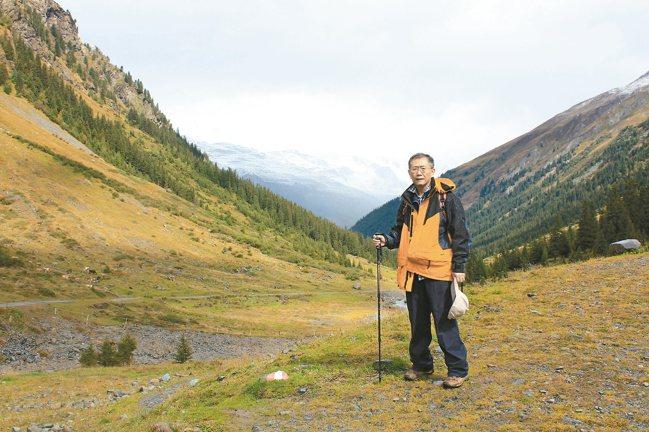 山讓蕭長瑞放空忘記煩惱,是最好的充電方式。 圖/蕭長瑞提供