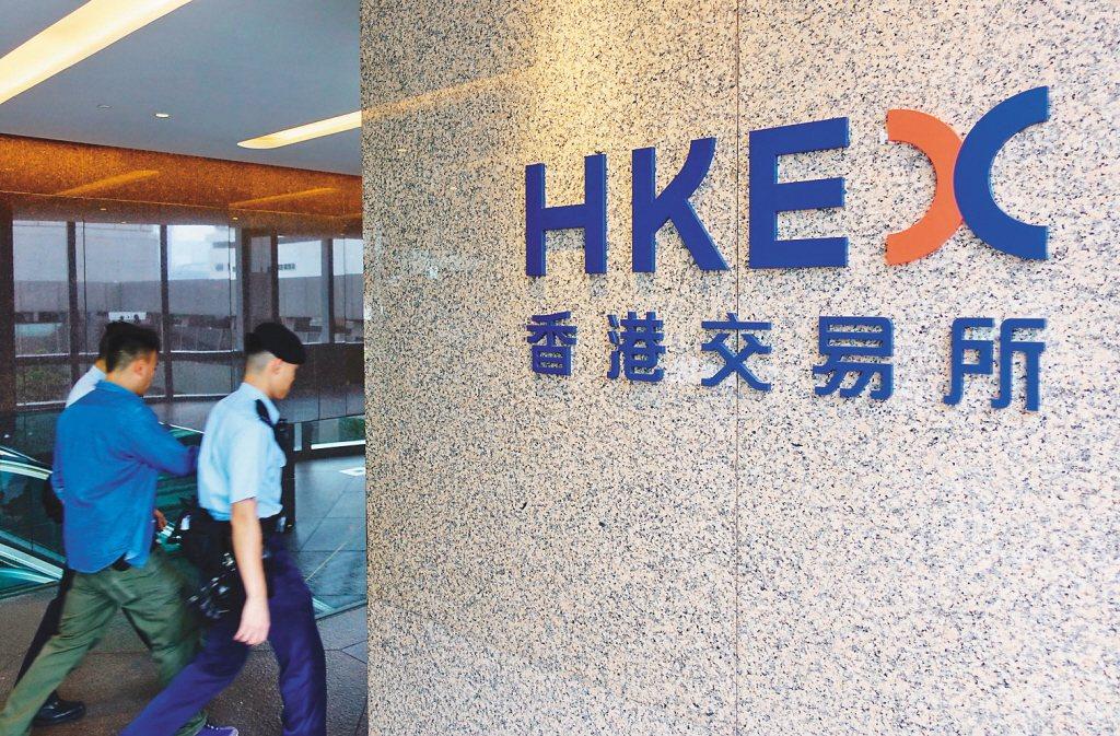香港交易所併購倫敦證券交易所破局。聯合報系資料照/香港中通社