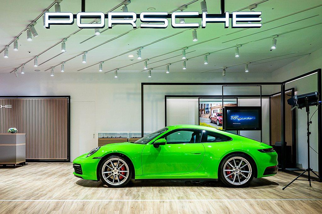 全球首座Porsche NOW在台正式開幕。 圖/Porsche提供