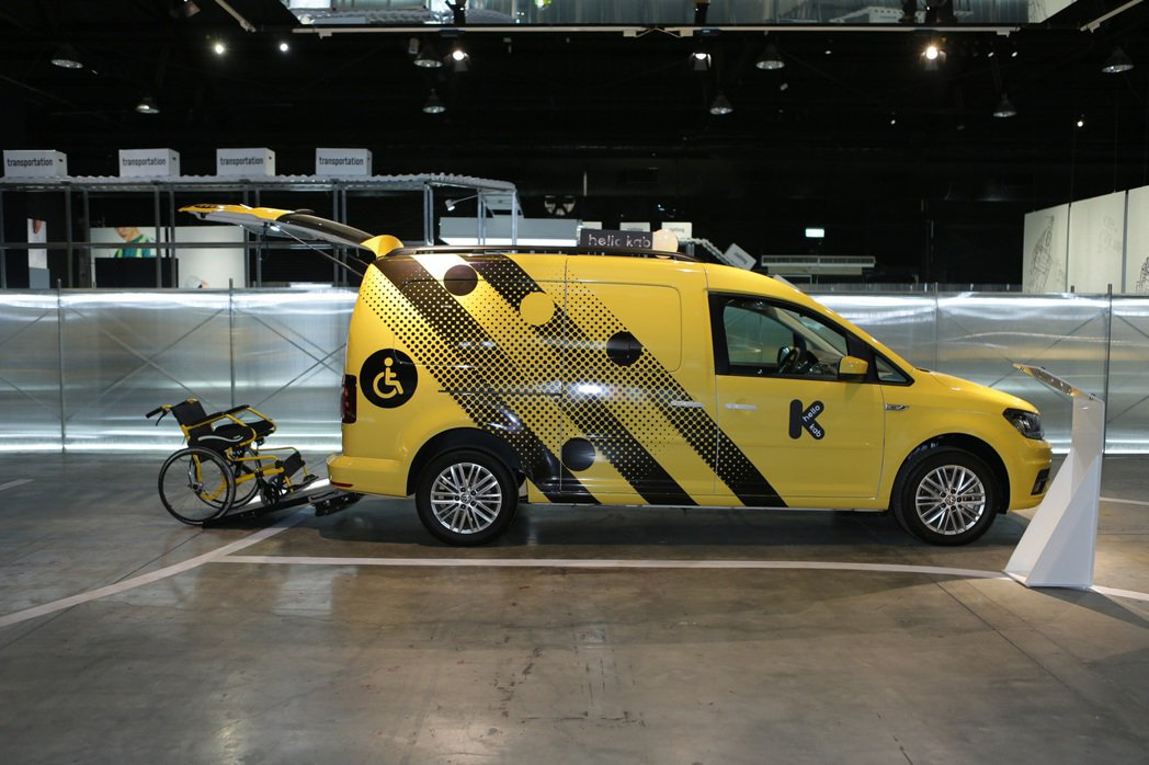 Caddy IPC 可提供最多六人乘載能力外,無須乘載輪椅乘客時,也有3880公...