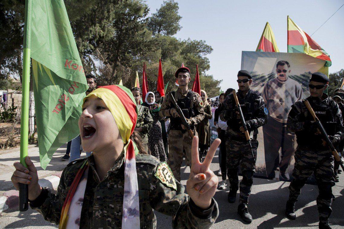 敘利亞庫德人。 圖/法新社