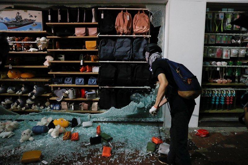 攝於10月2日,香港。 圖/路透社