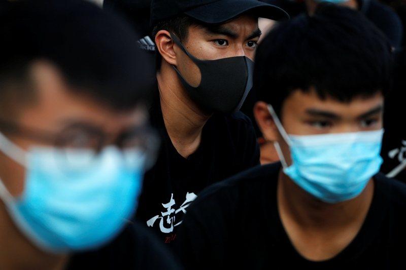 攝於10月3日,香港。 圖/路透社