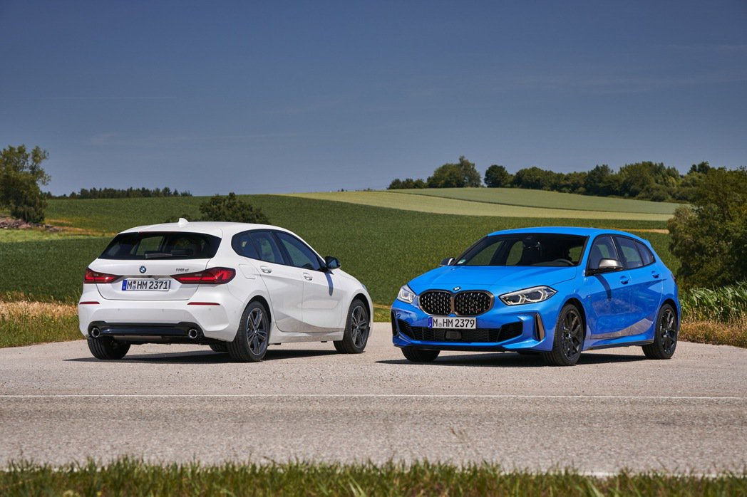 全新第三代BMW 1 Series (F40)。 摘自BMW