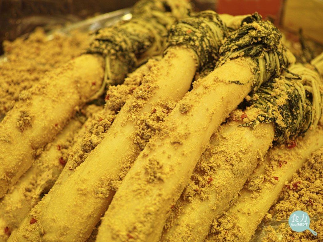 日本糠漬的醃蘿蔔。 圖片提供/食力