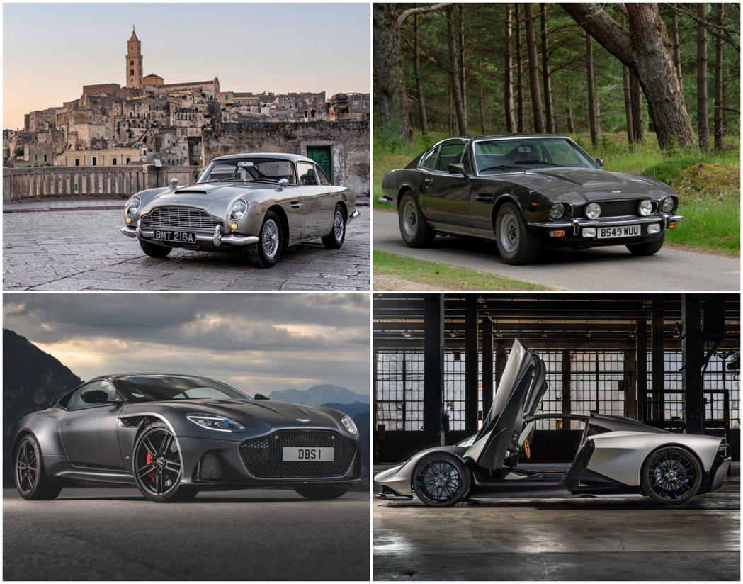 《007:生死交戰》龐德四輛戰駒確定! 摘自Aston Martin
