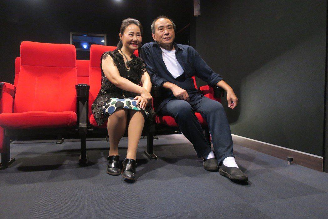 張作驥與呂雪鳳聯手新作「那個我最親愛的陌生人」,都有兩人照料失智家人的回憶。記者...