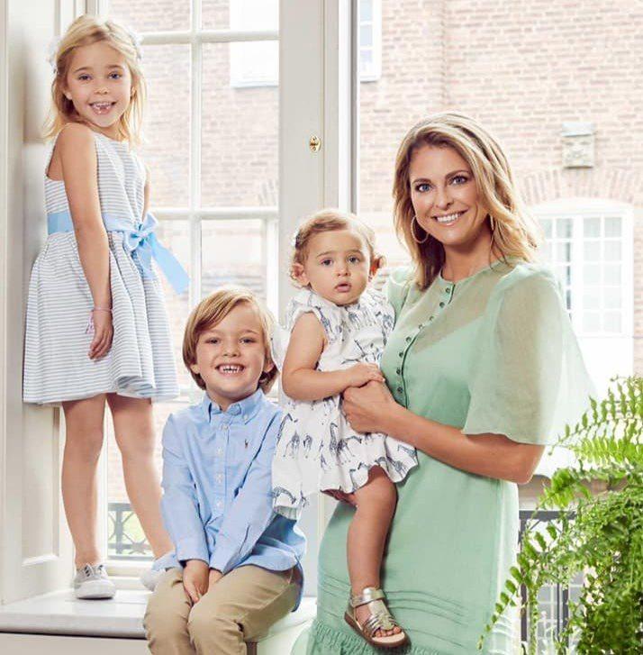 瑞典王室瑪德琳公主育有的兩女一子皆從王室成員中除名,她表示贊成,認為這項決定將給...