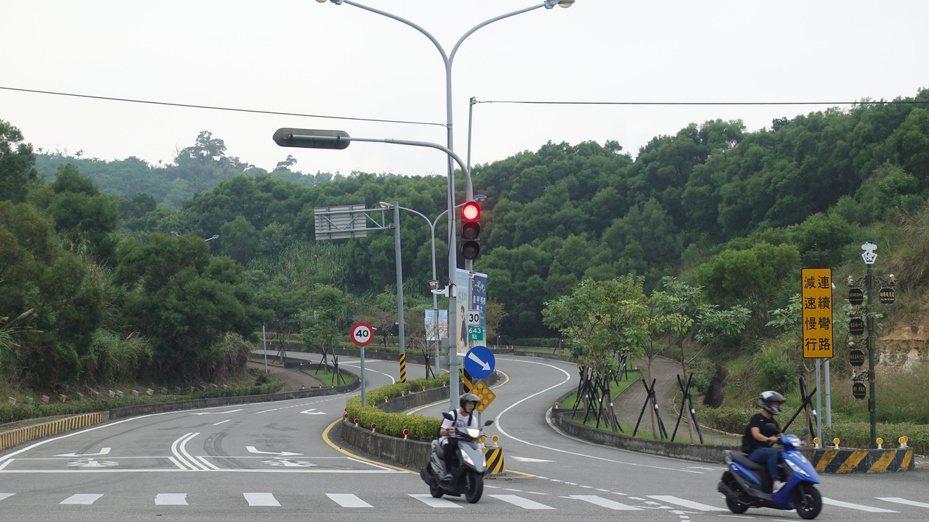 聯大路。記者劉星君/攝影
