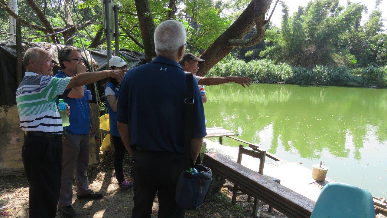 桃園市龍潭區低揚2號池,市府將耗資2800萬元,美化周圍景觀及步道,打造特色埤塘...