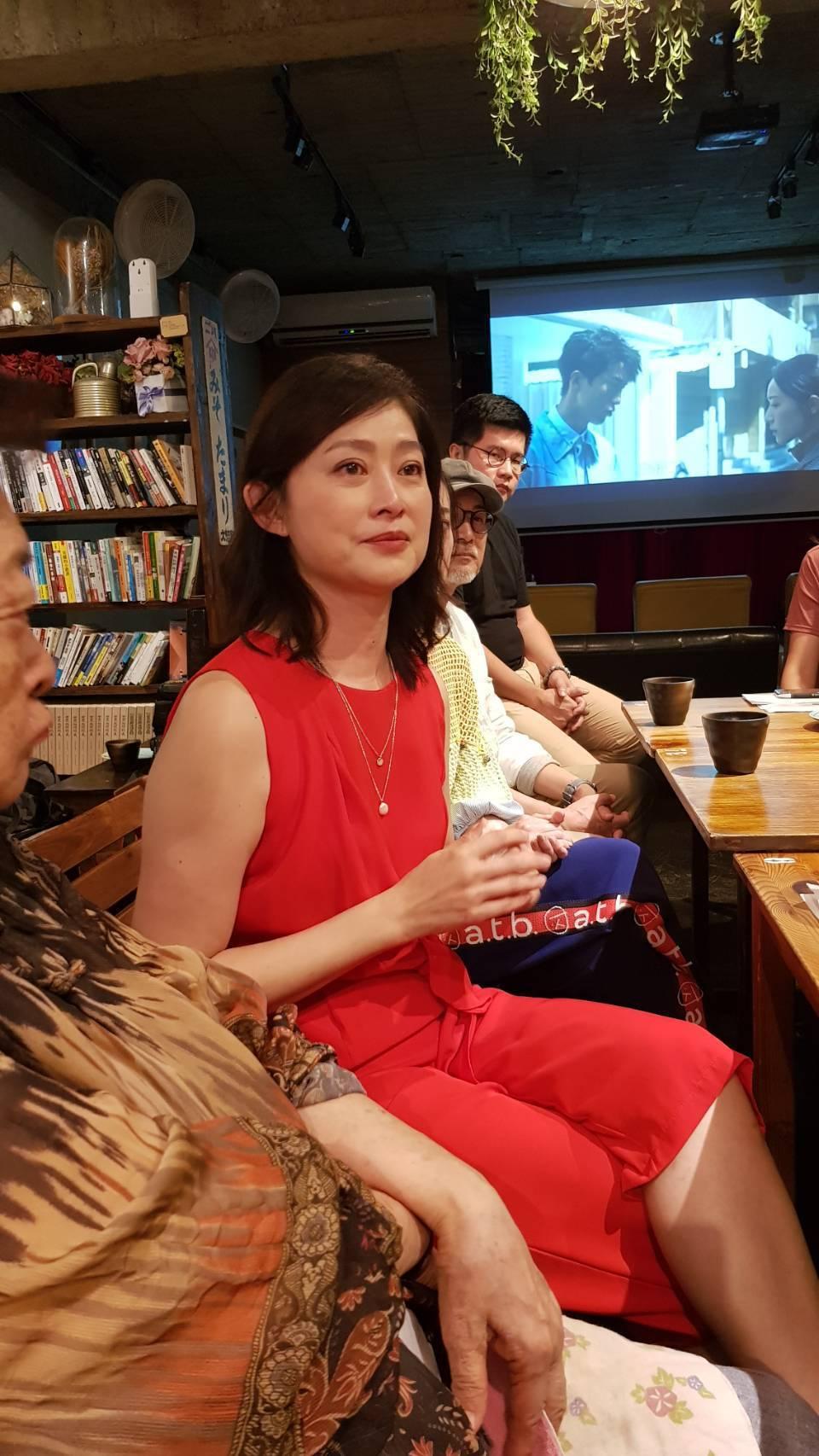 劉瑞琪提到母親失智情況,忍不住紅眼眶。記者杜沛學/攝影