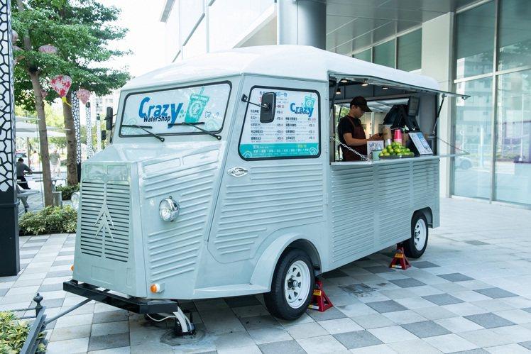 FUNLIFE餐車音樂市集的「街口味TAKEAWAY」。圖/ATT 4 Rech...