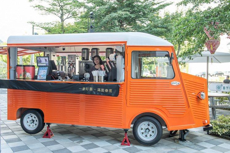 FUNLIFE餐車音樂市集的「春芳號」。圖/ATT 4 Recharge提供