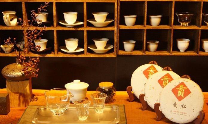 與古早封建時代進貢帝王貴族同樣產地等級的普洱貢茶。 十相茶日常小室/ 提供
