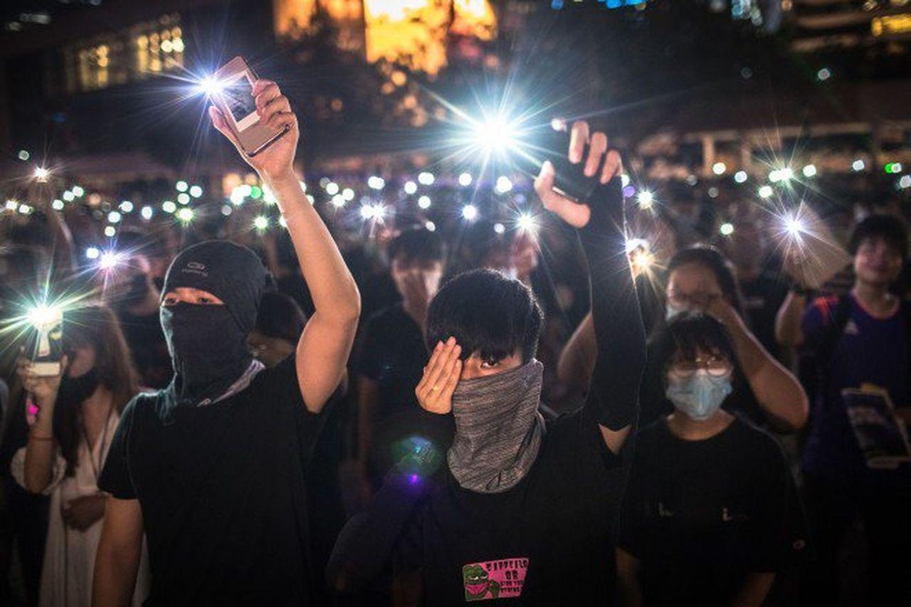 香港抗議者誓言抗議活動繼續進行。 歐新社