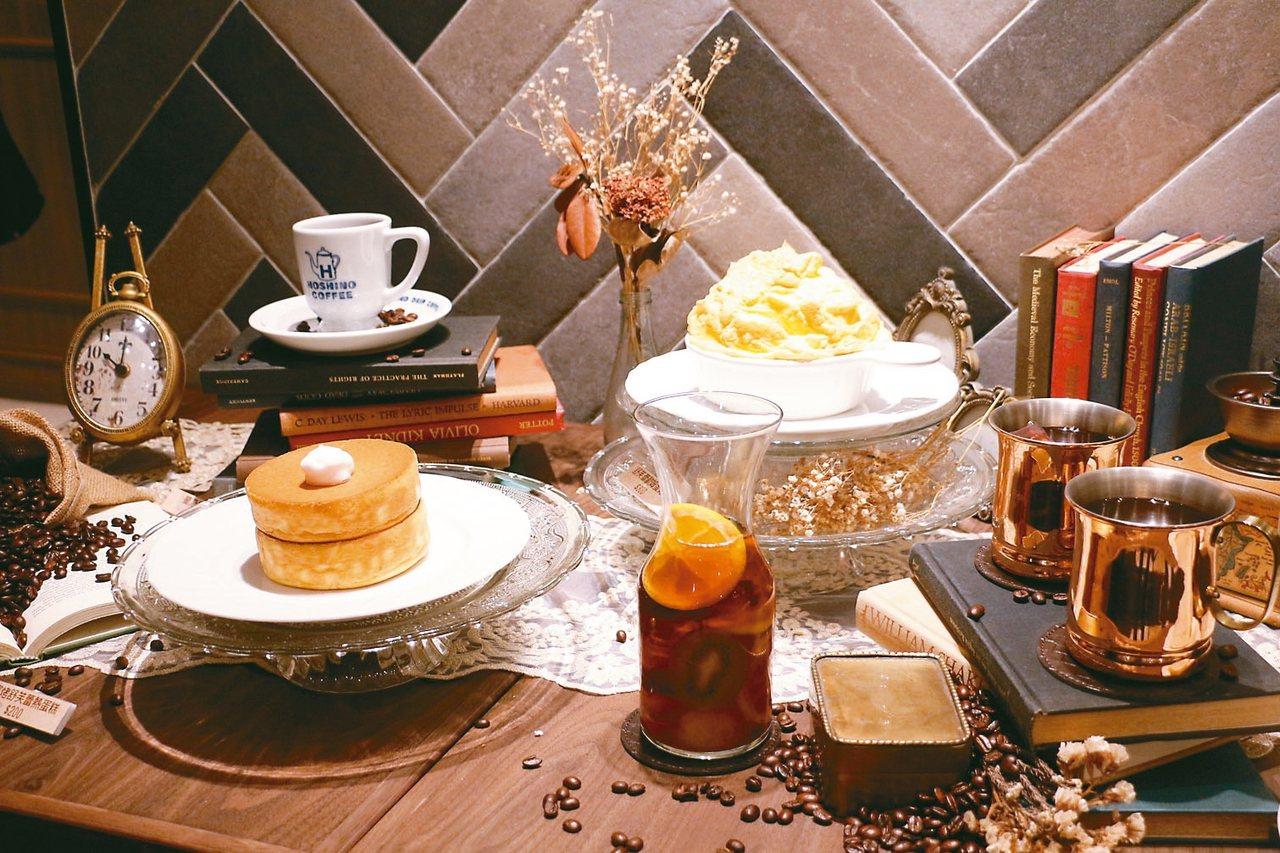 星乃珈琲店在日本掀起「窯烤舒芙蕾熱蛋糕」排隊風潮。 圖/新光三越提供